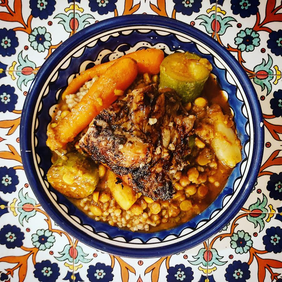 Day Three, Dish Three: Maftoul